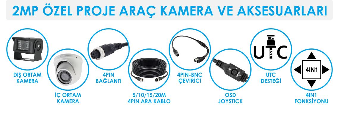 4 Pin Kamera