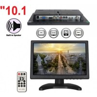 "10.1"" inç HD LED CCTV Monitör Derin Bnc Vga Av Hdmı Video Girişli"